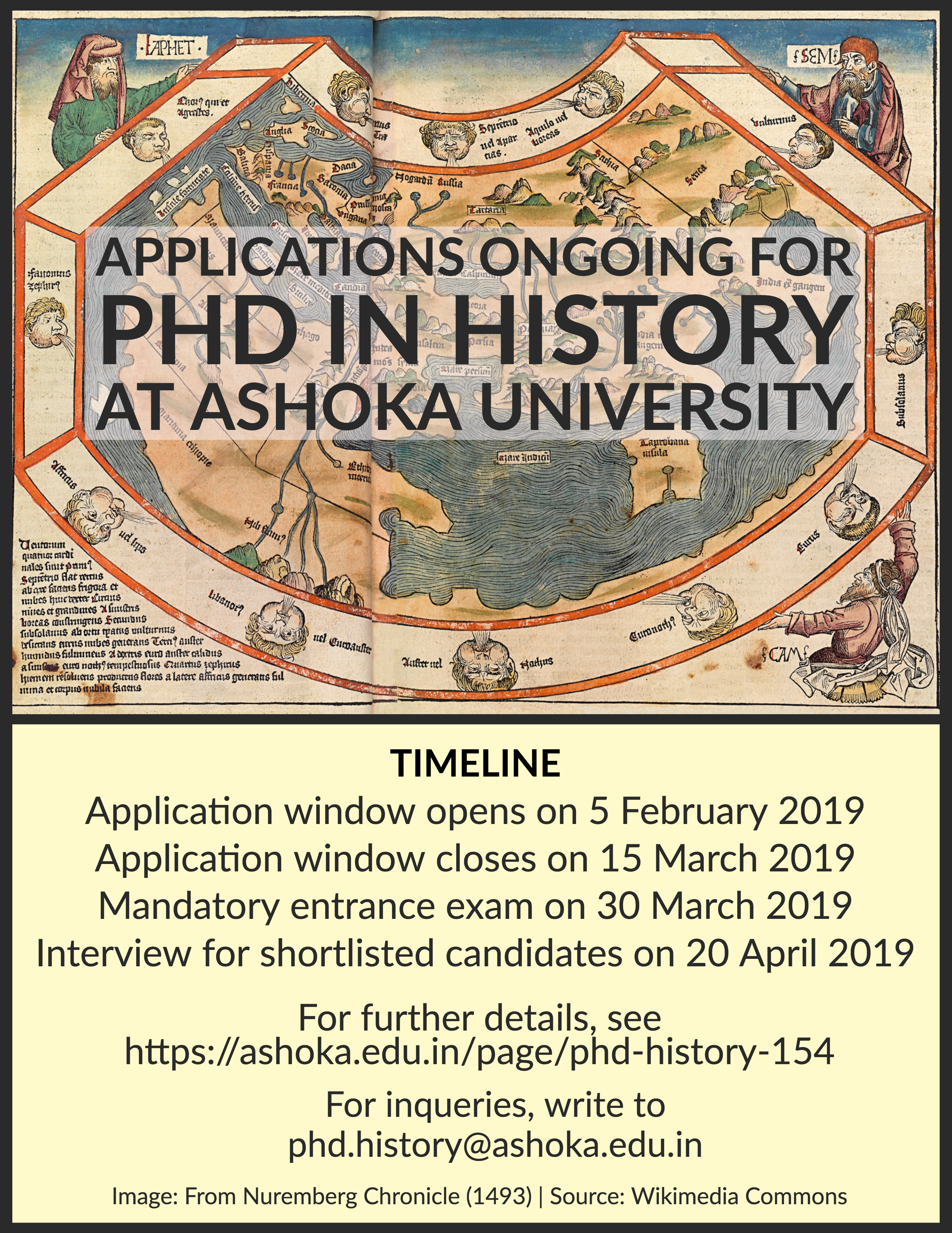 PhD Programme in History